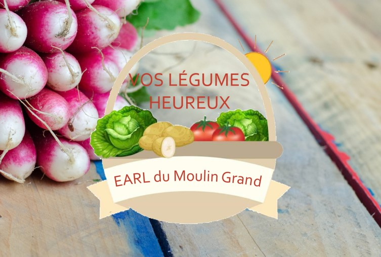 Moulin Grand sirieys légumes radis gintrac